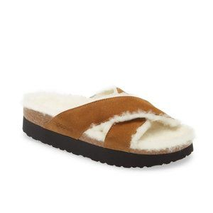 Birkenstock Papillo Daytona Shearling Sandal 39